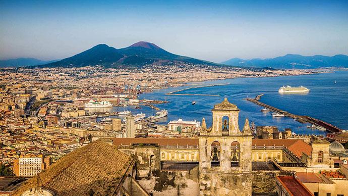 Нестандартные экскурсии по Неаполю. Фото города